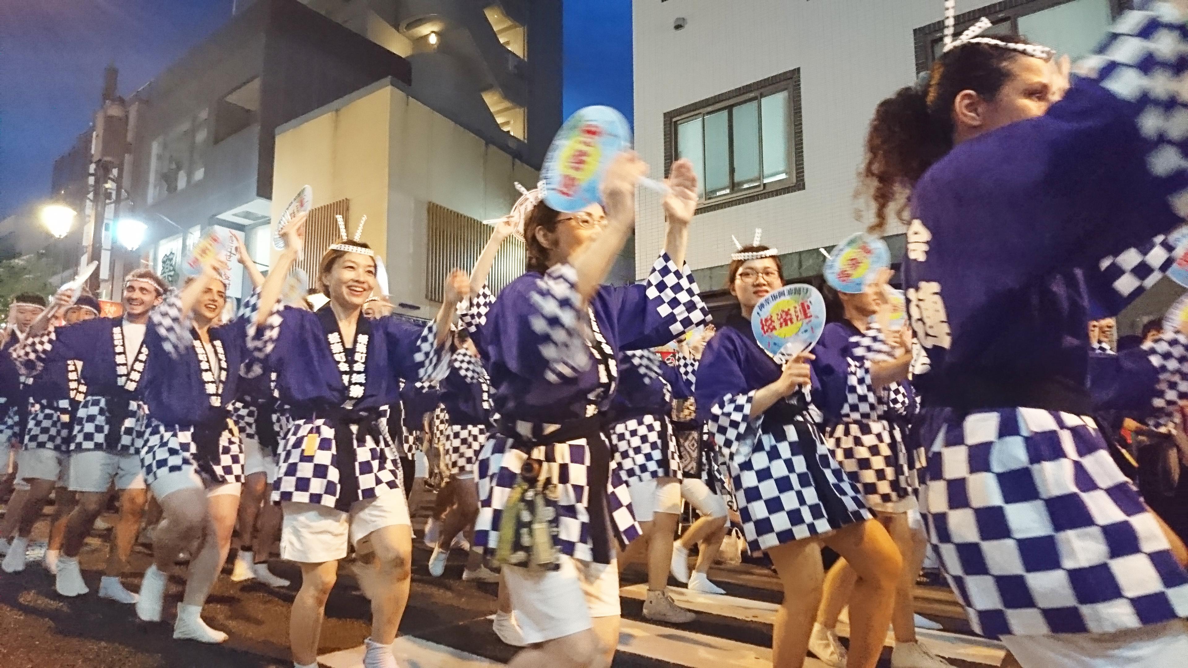 神乐坂祭~今年也跳了阿波舞